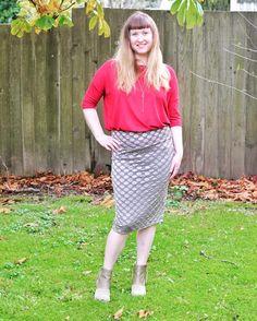 LuLaRoe Irma tunic + Cassie pencil skirt