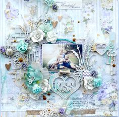 Hi Blue Fern Studio Fans, I have 2 layouts to share with you all today as well as 2 cards all created from the Deja Vu Collection. Mixed Media Scrapbooking, Scrapbooking Layouts, Scrapbook Pages, Mixed Media Art, Mix Media, Ferns, Projects To Try, Decorative Boxes, Paper Crafts