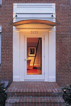Front Door Overhang & Surround
