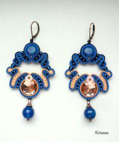 Soutage earrings