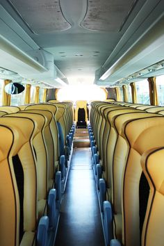 Brown Leather Seat Inside the Bus · Free Stock Photo Trade Secret, Free Stock Photos, Us Travel, Touring, Car Seats, Traveling, Hotels, Budget, Facts