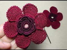CURSO CROCHET: Cómo tejer una preciosa flor crochet - video | Todo crochet
