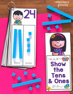 Need some ideas to freshen up your spring activities? In this post you'll find tons of engaging, hands-on activities to keep your kiddos learning all through the month of March and April. These Spring…More Early Finishers Activities, Kindergarten Math Activities, Fun Math, Teaching Math, Math Math, Early Finishers Kindergarten, Math Games, Center Ideas For Kindergarten, Teaching Teen Numbers