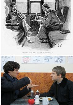 Awww Sherlock - I love the little nods to the original books/illustrations - Imgur