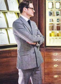Kingsman 2015, Kingsman Suits, Kingsman Harry, Colin Firth Film, Taron Egerton Kingsman, Eggsy Unwin, Oxford Brogues, English Men, Display
