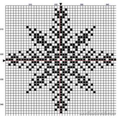 Snowflake Free Pattern for your Winter Decor Snowflake Free Pattern for your Winter Decor,Kreuzstich Snowflake cross stitch chart from Mary Corbet bags purses crafts stitches patterns stitch crochet crafts