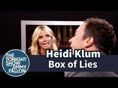 The Tonight Show Starring Jimmy Fallon: Box of Lies with Heidi Klum