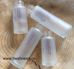Wusstet ihr schon? Bei Retournierung von 10 leeren Glasflakons gibt's ein Kosmetikprodukt nach Wahl gratis für euch  Shop www.freshness.cc