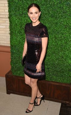 Pretty Portman! The Oscar winner is all smiles at the UCLA Younes & Soraya Nazarian Center for Israel Studies 5th Annual Gala in Beverly Hills.