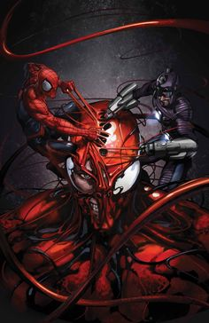 SUPERIOR CARNAGE #5 (of 5)  Kevin Shinick (W) • Stephen Segovia (A)  Cover by Clayton Crain • Superior Showdown! Superior Spider-Man versus Superior Carnage—but does the Wizard have one more trick in his mind-controlling hat? • Has Carnage become unleashed for good? • The most nefarious and wicked miniseries of the year comes to an epic conclusion!  32 PGS./Rated T+ …$3.99