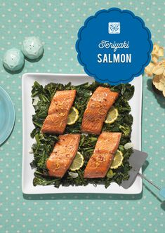 Check out this 20 minute teriyaki salmon and pop it in the oven for a deliciously cooked meal! Click for instructions of the recipe.