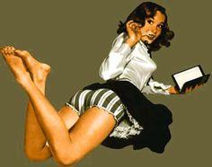 Favorite Pin-Up Girl: Moleskine Gal. Pin Up Girls, Naughty Librarian, Librarian Chic, Pin Up Pictures, Pin Up Girl Vintage, Pin Up Posters, Pin Up Tattoos, Girl Reading, Film Noir