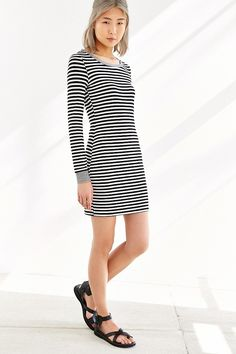 Long Sleeve Bodycon Dress Urban Outfitters
