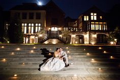 They had their wedding at the Lake House Inn on a Blue Moon. A rare occurrence, a Blue Moon only happens every few years. But Christine and Bubba are unique like that. She works in the wedding indu...