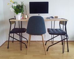 trop chic, pas cher: Diy DECO — Défi 1: Réaliser une table à manger design pour 100€