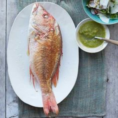 Snapper in Chile-Lime Sauce (Pescado en Chile-Limón) | Pan-frying is a fabulous way to cook fish. This preparation is the signature dish for the area around Lake Catemaco, which boasts some of the best freshwater and saltwater fish and shellfish in the world. In this version, the fried fish simmers briefly in the sauce before serving.