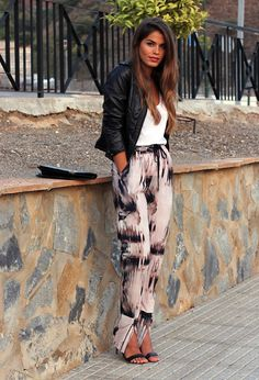 @roressclothes closet ideas #women fashion Cool Printed Outfit Idea for Fall 2014