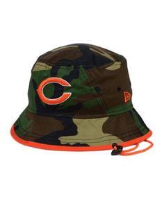 New Era Chicago Bears Camo Pop Bucket Hat Hat Men, Hats For Men, Hats 99989b3dd5b6