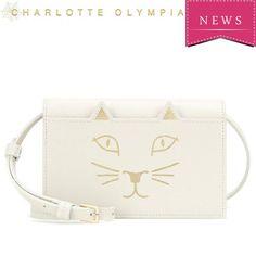 新色☆Charlotte Olympia Purse leather shoulder bag 2WAY