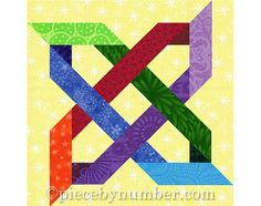 Bramblethorn PDF quilt block pattern, paper pieced quilt patterns, INSTANT DOWNLOAD, celtic knot patterns, knot quilt, celtic star quilt