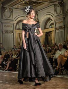 black dress, R'Ias Couture