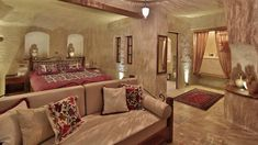 Osmanbey Cave House, Goreme – Updated 2020 Prices Cave Hotel, Underground Cities, Comfy Bed, Marble Floor, Sound Proofing, Smoking Room, Double Beds, Terrace, Turkey