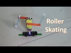 How to make a roller Skating robot - YouTube