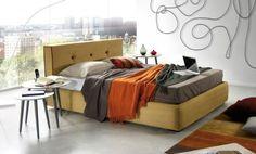 #cama #tapizada Stacy de #kibuc
