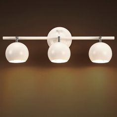 Contemporary Metal Globe Shade LED Spotlight Wall Lamp in Black White Flush Mount Lighting, Wall Sconce Lighting, Pendant Lighting, Sconces, Exterior Wall Light, Exterior Lighting, Indoor Wall Lights, Ceiling Lights, Globe Lamps