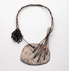 Iris Bodemer – Neckpiece 2012  Copper, hematite