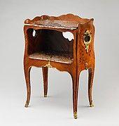 Bernard II van Risenburgh | Writing table (bureau plat) | French, Paris | The Met