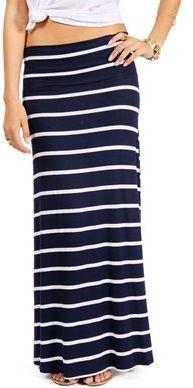 #Windsor                  #Skirt                    #Navy/White #Striped #Maxi #Skirt                   Navy/White Striped Maxi Skirt                                                 http://www.seapai.com/product.aspx?PID=1757794