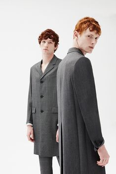 """Gingers"" Jorge Perez Ortiz for L'officiel Hommes Spain Twin Models, Male Models, Photography Poses For Men, Creative Photography, Street Portrait, Business Portrait, Studio Shoot, Silhouette, Editorial Fashion"