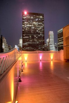 The sky is the limit when it comes to holding your event at Top of the Garden. View from the terrace. Visit us at www.topofthegarden.com