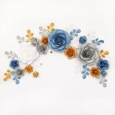 Бумажные цветы в галерее Мио на etsy смотрите наш... |