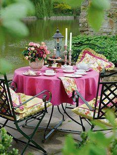 ...garden tea