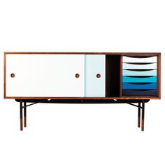 I might try to marry this piece of furniture!  Sideboard by Finn Juhl.
