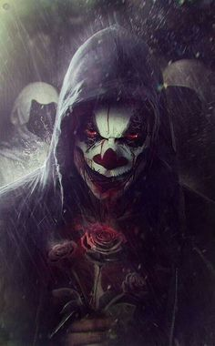 Clown of Death at the End of Time