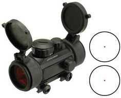 Matrix 1x30 Military Grade Illuminated Red / Green Dot Sight Scope w/ QD Weaver Base</b>, Accessories & Parts, Scopes & Optics, Red Dot Sights - Evike.com Airsoft Superstore
