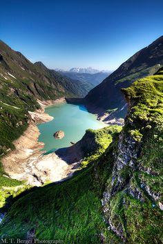 Alpine landscape near Kaprun, Austria