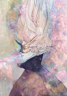 Black Unicorn Mask by yanadhyana