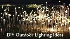 Outdoor Pole Lighting Ideas | DIY Outdoor Lighting Ideas to Light Your Garden This Summer