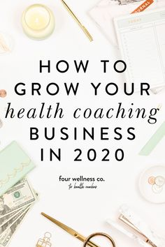 How To Grow Your Health Coaching Business in 2021 | Wanting to grow your health coaching business this year? Whether you've been dabbling in health coaching for some time now, or 2021 is the year you're launching your brand new health coaching gig, here are some helpful tips for building (and growing!) your dream wellness business. Four Wellness Co. Health Coaching Business Resources & Tips | Online Business Marketing | Coaching Business Marketing | Make Money Online | Start Coaching Digital Marketing Strategy, Business Marketing, Business Tips, Online Marketing, Online Business, Coaching Questions, Coaching Skills, Investment Tips, Dream Career