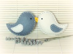 Felt Bird Ornaments Home Decor