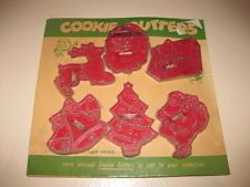 Vintage Christmas Cookie Cutters - New