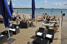 Beach Bar Plagen, HANKO, most southern city in FINLAND