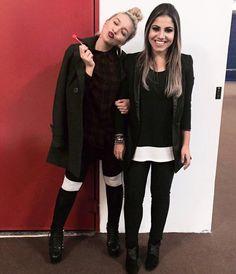 Priscilla Alcântara e Gabriela Rocha