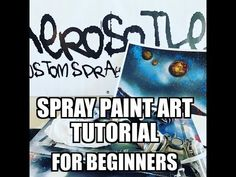 Spray Paint Art Tutorial For Beginners Spray Paint Art, Spray Painting, Improve Yourself, Make It Yourself, Art Tutorials, Photo Art, Youtube, Instagram, Youtubers