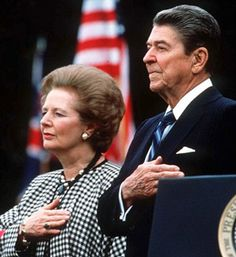 The Gipper and the Iron Lady