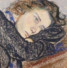 Stanisław Wyspiański Studium kobiety, 1902, Źródło: Rempex